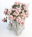 Original flowerpot Royalty Free Stock Photo