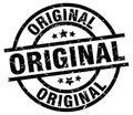 Original stamp Royalty Free Stock Photo
