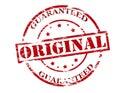 Original guaranteed