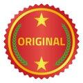 Original label
