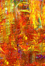 Original oil painting nice image of a large scale Royalty Free Stock Image