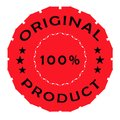 Original product label Royalty Free Stock Photo