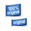 Original product labels illustration Royalty Free Stock Image