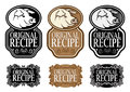 Original Recipe Pork vertical version Stock Photography