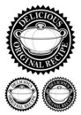 Original Recipe Seal Stock Image