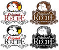 Original Recipe Seal Beef Version Royalty Free Stock Photos