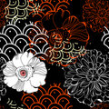 Original seamless wallpaper Royalty Free Stock Images