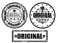 Original stamp Stock Images