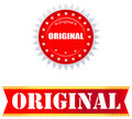Original Sticker Royalty Free Stock Photos