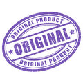 Original vector stamp Royalty Free Stock Photo