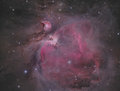 Orion nebula Fotografie Stock