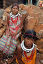 Orissa's tribal women at weekly market Royalty Free Stock Photo