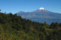 Orizaba Peak and Sierra Negra Royalty Free Stock Photography