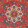 Ornament of central asian carpet traditional vintage on middle the th century Royalty Free Stock Photography