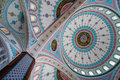 Ornament on the dome of  Blue Mosque in Manavgat, Turkey Royalty Free Stock Photo