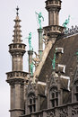 Ornament on Grote markt in brussels Stock Photography