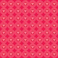 Ornament Love Pattern Background Pink