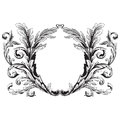 Ornament vector baroque