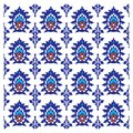 Ornamental abstract floral background oriental arabic indian design pattern mlticolor Stock Photo