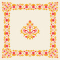 Ornamental border frame design element Royalty Free Stock Image