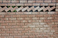 Ornamental Brick Wall Stock Photos