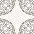 Ornamental corner lace frame abstract card Royalty Free Stock Image