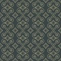Ornamental decorative pattern seamless grey Royalty Free Stock Images