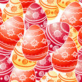 Ornamental Easter eggs Royalty Free Stock Photos