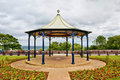 Ornamental English bandstand Royalty Free Stock Images