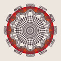 Ornamental esoteric spring mandala Stock Photography