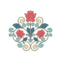 Ornamental floral element for design in china stile eps Stock Photography