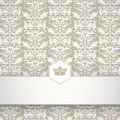 Ornamental floral pattern with place for your text the background design registration Royalty Free Stock Photo