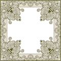 Ornamental frame Royalty Free Stock Photography