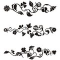 Ornamental frieze designs Royalty Free Stock Photo