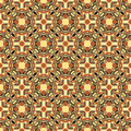 Ornamental geometric seamless pattern.