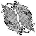 Ornamental Hand Drawn Sketch O...