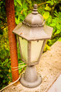 Ornamental Lamp On Village House Garden Royalty Free Stock Photo