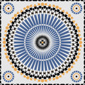 Ornamental morocco seamless pattern.