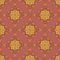 Ornamental pattern bright in oriental style Royalty Free Stock Photography