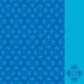 Ornamental pattern seamless Stock Photo
