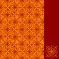 Ornamental pattern seamless Stock Images