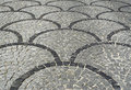 Ornamental road surface Stock Photography