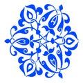 11 Ornamental Round Flower Sil...