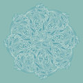 Ornamental round lace pastel background Stock Photos