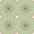 Ornamental round seamless pattern Royalty Free Stock Photography