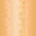 Ornamental satin seamless pattern roses Stock Photography