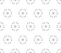 Ornamental seamless pattern, floral background