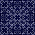 Ornamental seamless pattern in islamic style. Vector abstract background. Royalty Free Stock Photo