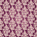 Ornamental seamless wallpaper with arabesques Stock Photography