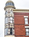 Ornamental Turret, Downtown Janesville, Wisconsin